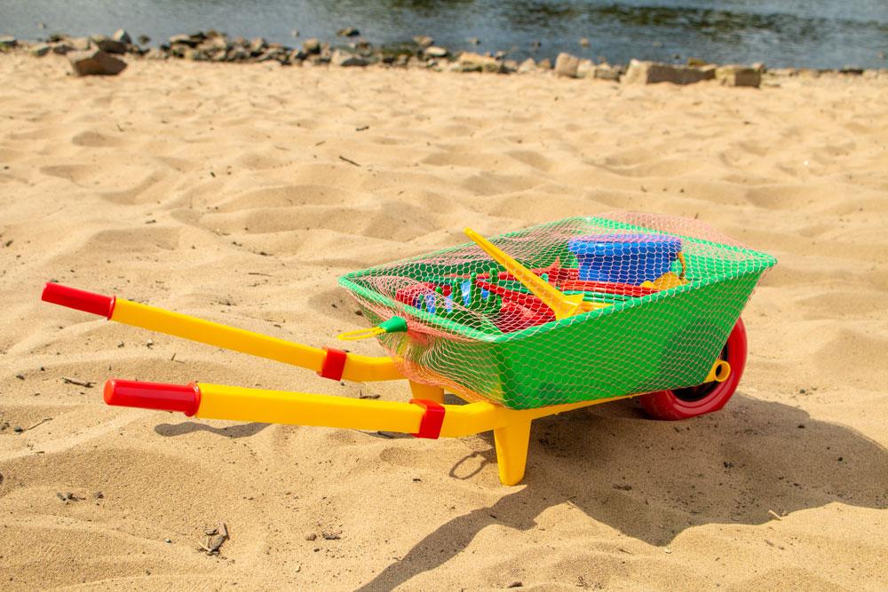 Sommerspielset mit Schubkarre